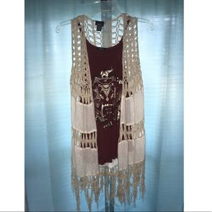 RUE21 TankTop with Sleeveless Cover